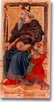 tarot Charles VI, l'Empereur