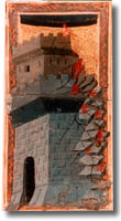 tarot de Charles VI, la Maison-Dieu