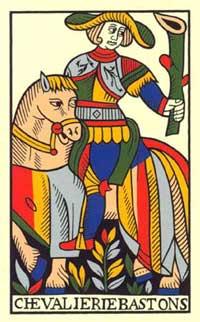 chevalier de bastons