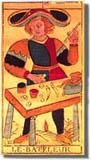 tarot Conver, le Bateleur