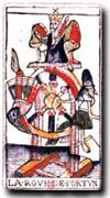 tarot Dodal, la Roue de la Fortune
