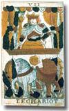tarot Noblet, le Chariot