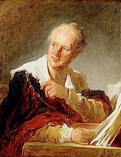 Diderot vieux par Fragonard