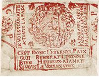 emballage de cartes, 18è siècle