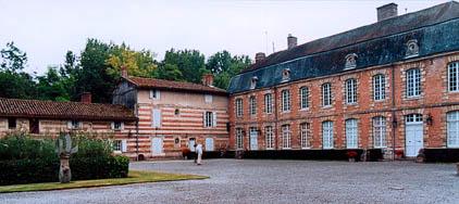 château, cour d'honneur