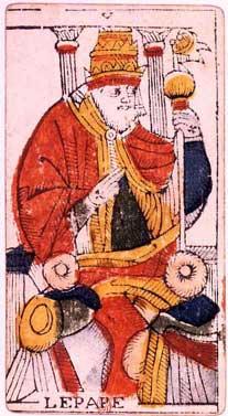 Tarot de Jean Dodal, III Imperatris
