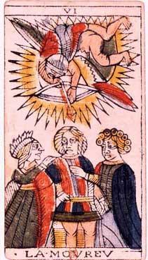 Tarot de Jean Dodal, VI Lamoureu