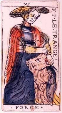 Tarot de Jean Dodal, XI Force