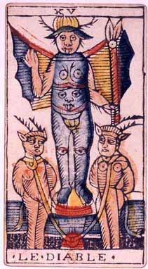 Tarot de Jean Dodal, Le Diable