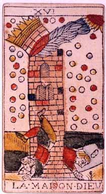 Tarot de Jean Dodal, La maison Dieu