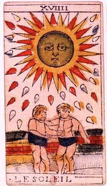 Tarot de Jean Dodal, Le soleil