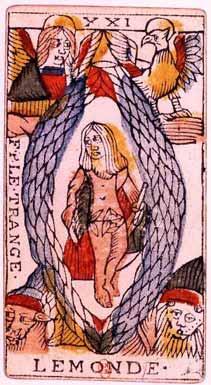 Tarot de Jean Dodal, Le Monde
