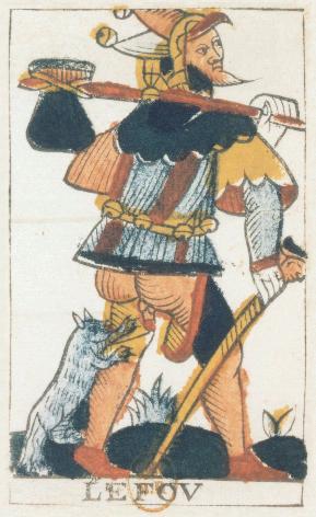 Tarot de Jean Noblet, Le Fov