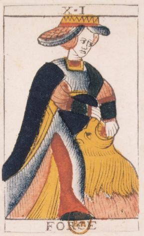 Tarot de Jean Noblet, XI Force