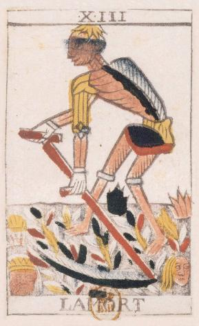 Tarot de Jean Noblet, XIII La mort