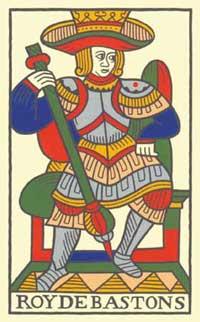 roi de bastons