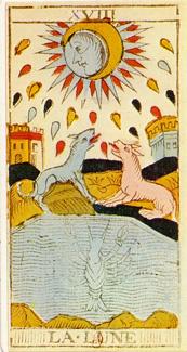lune tarot Conver edition 1760