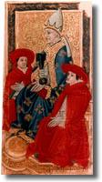 tarot de Charles VI, le Pape