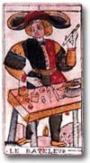 tarot Dodal, le Bateleur