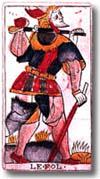 tarot Dodal, le Fou