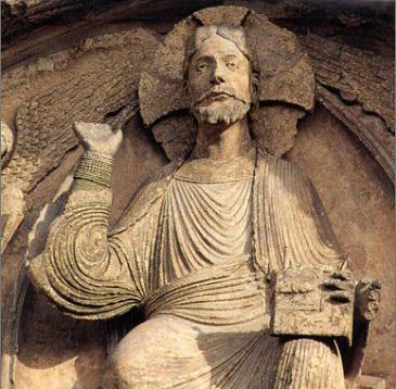 Christ en majesté dans sa mandorle