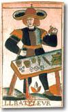 tarot Noblet, le Bateleur
