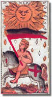 tarot Vieville, le Soleil